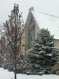 St. Paul's, Dayton, winter